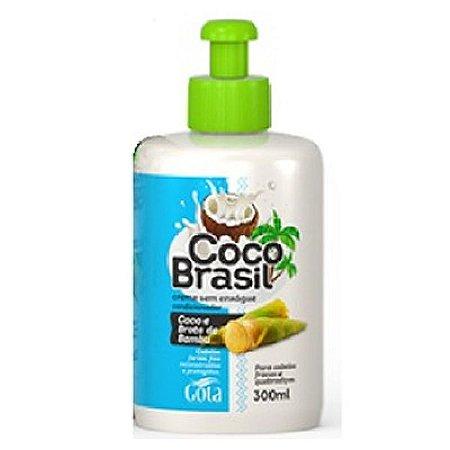 Creme de Pentear Gota Dourada  Coco e Broto Bambu 300ml