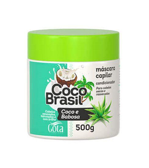 Gota Dourada Máscara 500g Coco e Babosa