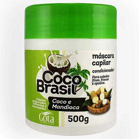 Gota Dourada Máscara Coco e Mandioca 500g