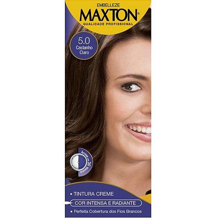 Tintura Maxton Kit 5.5 Castanho Claro