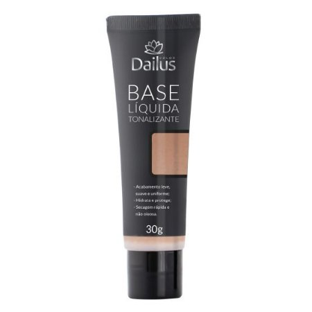 Dailus Base Líquida Bisnaga 06 Natural 30g