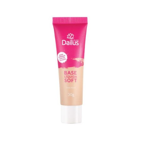 Dailus Base Líquida Soft 04 Bege Claro