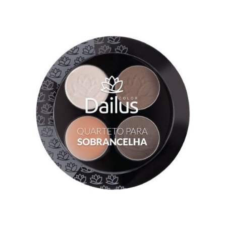 Dailus Quarteto Para Sombracelhas 4,5g