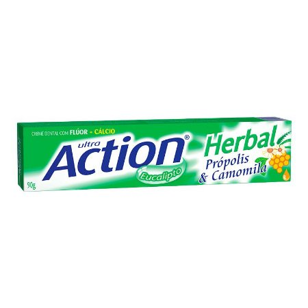 Creme Dental  Ultra Action Herbal  90grs