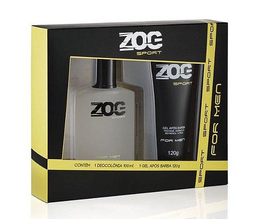 Kit Zog Colonia 100ml+Gel Pos Barba 120grs