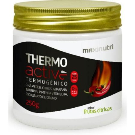 Thermo  Active Frutas Citricas 250grs Maxinutri