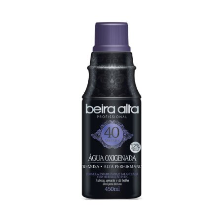 Água Oxigenada  Black Beira Alta 450mL 40 Vol