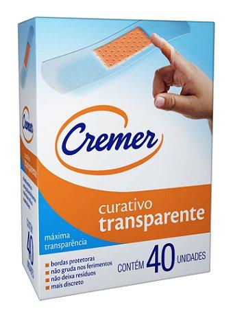 Curativo Cremer Transparente 40 unidades