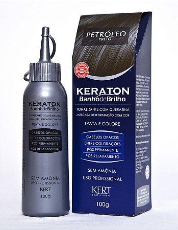 Keraton Banho de Brilho Sem Amônia Petróleo 100g