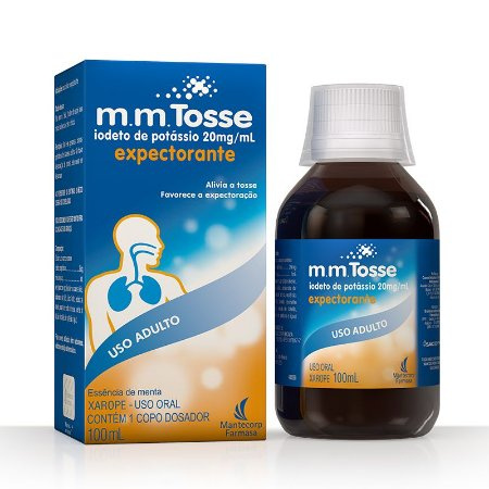 Mm Tosse Xarope Expectorante 100ml - Iodeto de Potássio