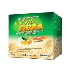 Novafibra 10 Sachês com 5g cada Eurofarma
