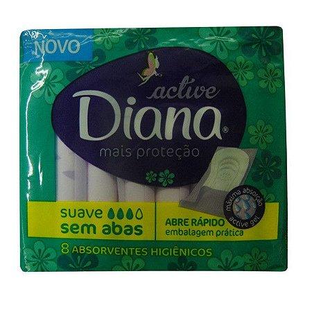 Absorvente Diana Suave sem Abas 8un