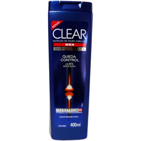 SH CLEAR QUEDA  CONTRO MEN  ANTICASPA 400ML
