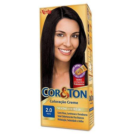 Tintura Cor&Ton Kit 2.0 Preto
