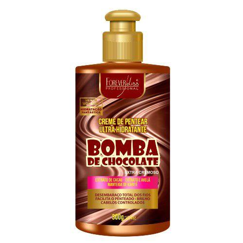 Forever Liss Creme de Pentear Bomba de Chocolate 300g