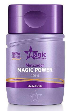 Magic Color Gloss Matizador 3d Efeito Perola 100ml