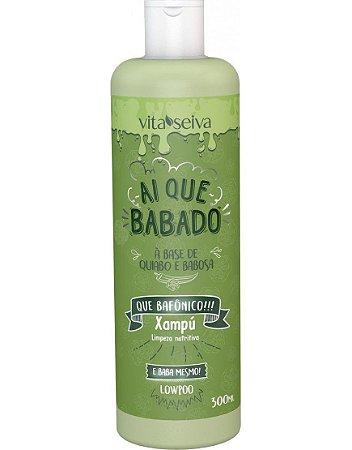Shampoo Ai Que Babado Quiabo e Babosa 300ml