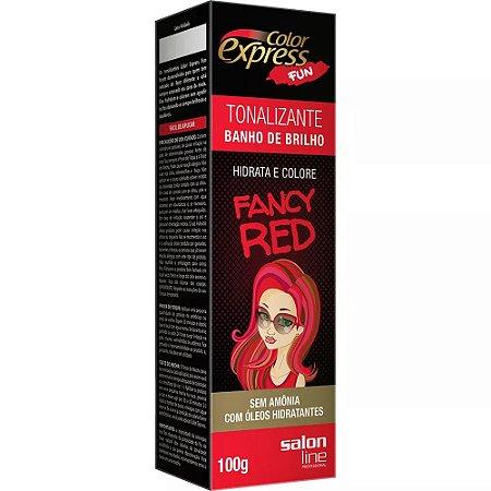 Tonalizante Salon Line Color Express Fancy Red 100g