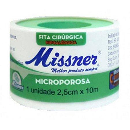 Esparadrapo Misser micropore  2,5 cm x 10 Metros