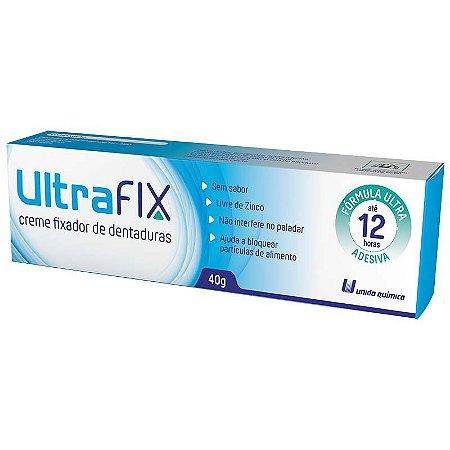 Ultrafix Creme Fixador Dentaduras 40g - União Química