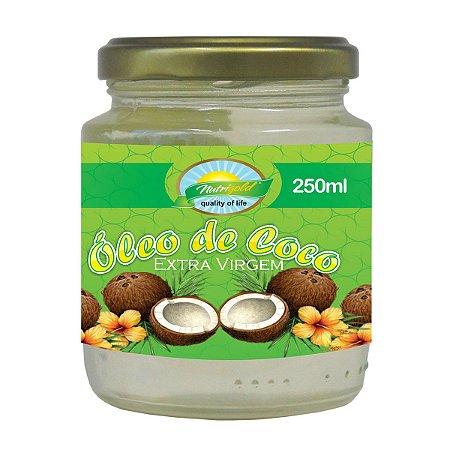 Oleo de Coco Extra Virgem Nutrigold 250ml