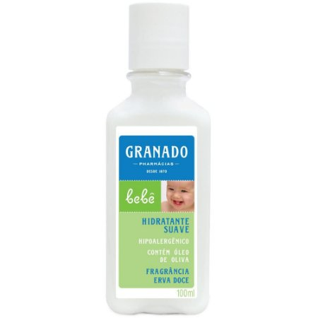 Granado Bebe Loção Hidratante 100mL  Erva Doce
