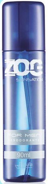 Desodorante Zog Aerosol Sensation For Men 90ml