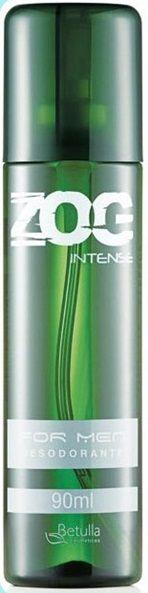 Desodorante Zog Aerosol Intense For Men 90ml