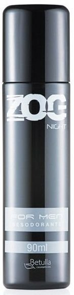 Desodorante Zog Aerosol Night For Men 90ml