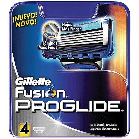 Carga Gillette Fusion ProGlide 4 Cartuchos