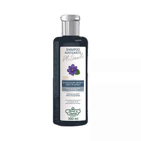 Shampoo Flores e Vegetais Matizante Platinado 300ml