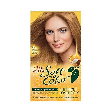 Tintura Soft Color 8.3 Louro Claro Dourado