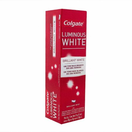 Creme Dental Colgate Luminous White 70grs