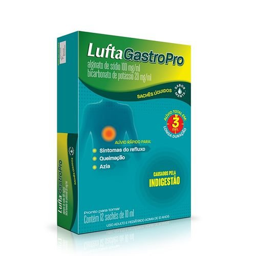 LUFTAGASTROPRO 10ML 12 SACHES RECKITT