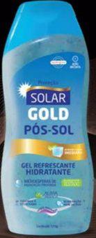 Gel Pós Sol Solar Gold 120grs