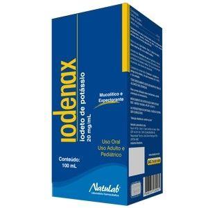 IODETO DE POTASSIO- IODENAX  XPE 100ml - NATULAB
