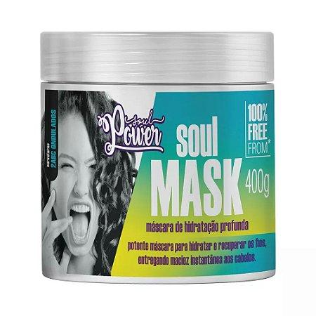 Soul Power Máscara 400g Hidratação Profunda