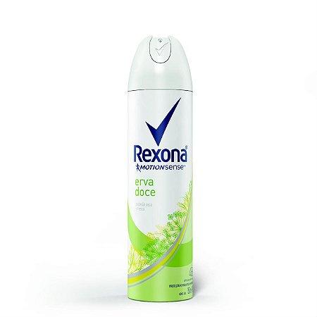 Desodorante Rexona Aerosol 150mL Erva Doce