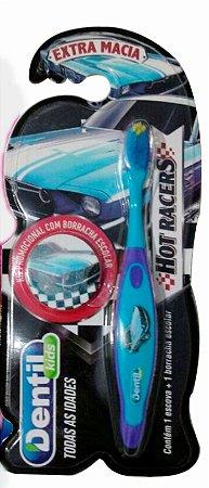 Escova Dental Dentil Kids Hot Racers