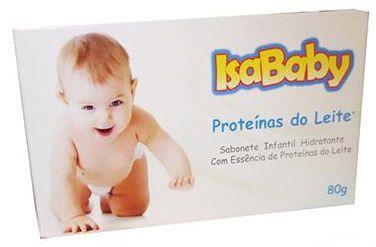 Sabonete Infantil  Isababy Proteinas do Leite 80grs