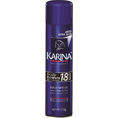 Hair Spray Karina Fixação Forte Cachos 400mL