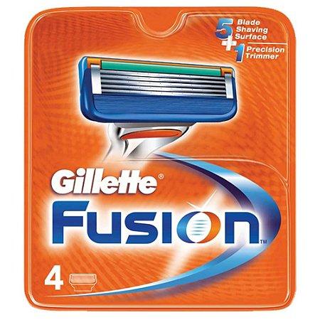 Carga P/ Aparelho Barbear Gillette Fusion 4un