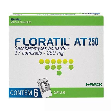 FLORATIL AT 250mg com  6 cápsulas - MERCK