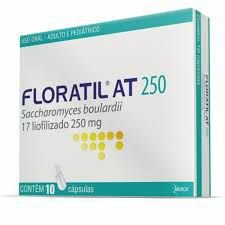 FLORATIL AT 250MG com 10 cápsulas - Merck