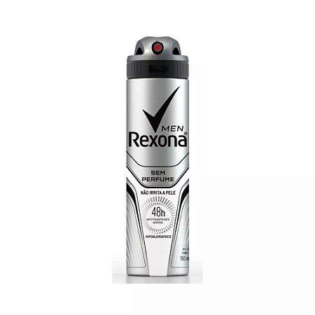 Desodorante Rexona Aerosol 150ml Men Sem Perfume