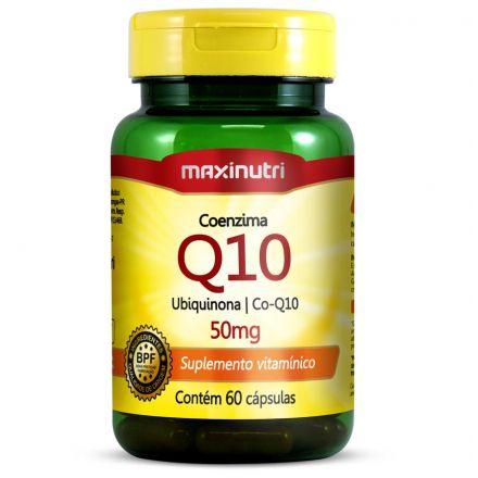 Coenzima Q10 50mg 60Caps Maxinutri