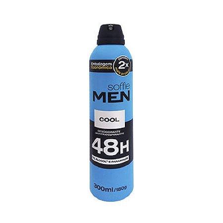 Desodorante SOFFIE MEN COOL AEROSOL 48H 300ml