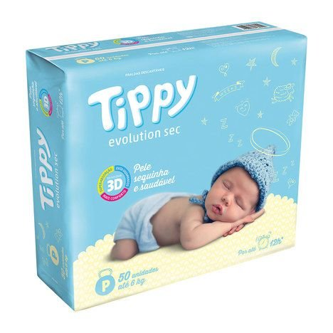 FRALDA TIPPY EVOLUTIONSEC Tam P C/50