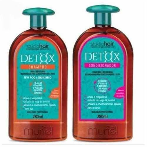 Kit Muriel Detox Shampoo e Condicionador 280ml cada