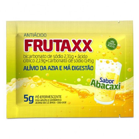 FRUTAXX ENVELOPE ABACAXI 5GRS
